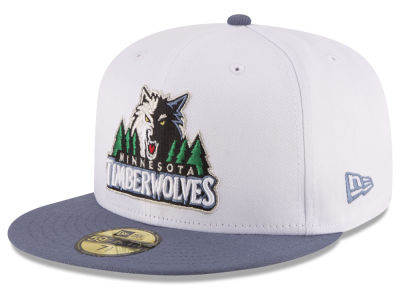 Minnesota Timberwolves NBA 2 Tone Team 59FIFTY Cap Hats