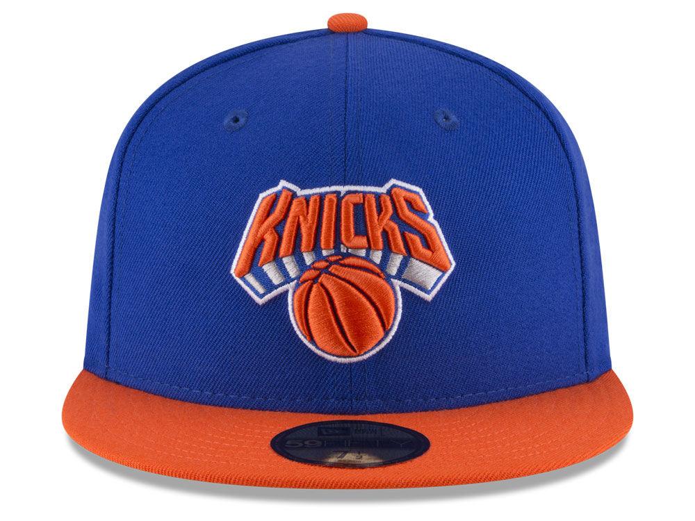 half off d72fd 80455 New York Knicks New Era NBA 2 Tone Team 59FIFTY Cap low-cost