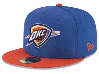 Oklahoma City Thunder NBA 2 Tone Team 59FIFTY Cap Hats