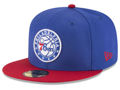 Philadelphia 76ers NBA 2 Tone Team 59FIFTY Cap Hats