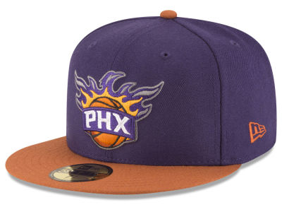Phoenix Suns NBA 2 Tone Team 59FIFTY Cap Hats