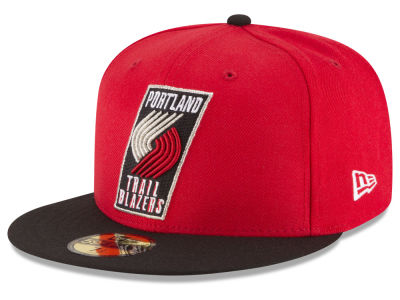 Portland Trail Blazers NBA 2 Tone Team 59FIFTY Cap Hats