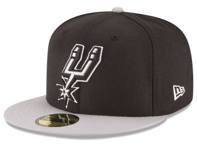 San Antonio Spurs NBA 2 Tone Team 59FIFTY Cap Hats