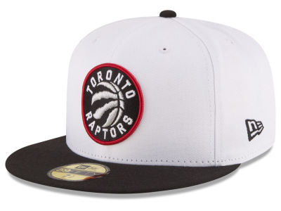 Toronto Raptors NBA 2 Tone Team 59FIFTY Cap Hats