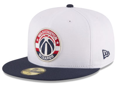 Washington Wizards NBA 2 Tone Team 59FIFTY Cap Hats