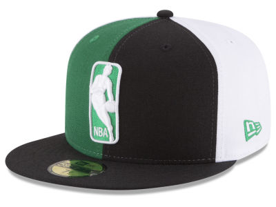 Boston Celtics NBA Logoman 59FIFTY Cap Hats