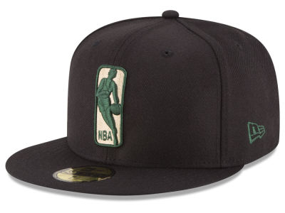 Milwaukee Bucks NBA Logoman 59FIFTY Cap Hats