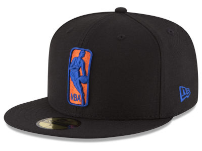 New York Knicks NBA Logoman 59FIFTY Cap Hats