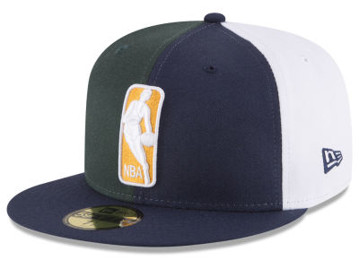 Utah Jazz NBA Logoman 59FIFTY Cap Hats