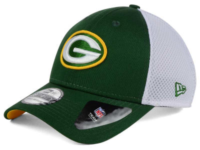 Green Bay Packers NFL Neo Builder 39THIRTY Cap Hats