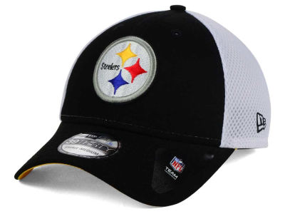 Pittsburgh Steelers NFL Neo Builder 39THIRTY Cap Hats