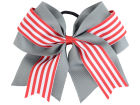 Ohio State Buckeyes 3inch Layered Stripe Ponytail Headbands & Wristbands