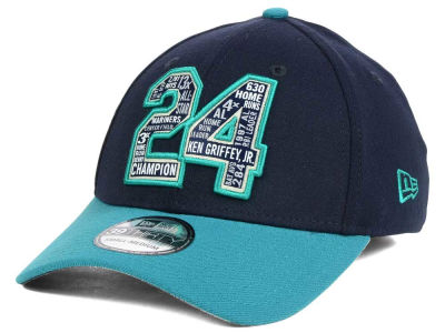 Seattle Mariners Ken Griffey Jr. MLB Ken Griffey, Jr Hall of Fame 39THIRTY Cap Hats
