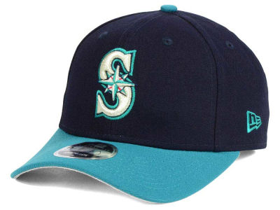 Seattle Mariners Ken Griffey Jr. MLB Ken Griffey, Jr Hall of Fame Pre Curved 9FIFTY Snapback Cap Hats