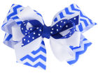 Kentucky Wildcats Stacked Bow Headbands & Wristbands