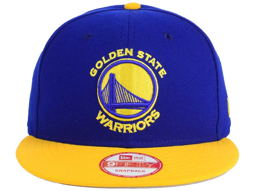 newest 2ac19 6636d Golden State Warriors New Era NBA 2-Tone Warriors Chase 9FIFTY Snapback Cap  durable service