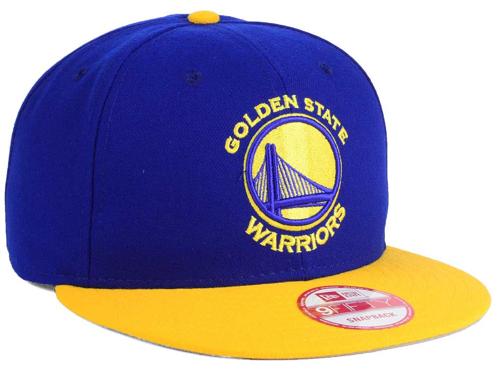 bdcb5774dd7 Golden State Warriors New Era NBA 2-Tone Warriors Chase 9FIFTY Snapback Cap  durable service
