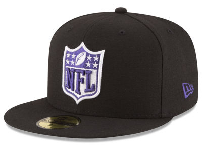 Baltimore Ravens NFL Team Shield 59FIFTY Cap Hats