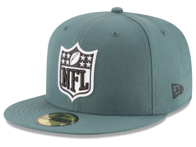Philadelphia Eagles NFL Team Shield 59FIFTY Cap Hats
