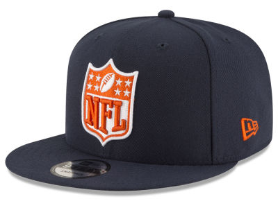 Chicago Bears NFL Team Shield 9FIFTY Snapback Cap Hats