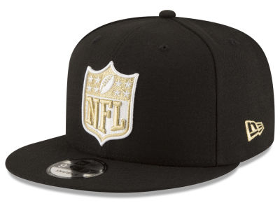 New Orleans Saints NFL Team Shield 9FIFTY Snapback Cap Hats