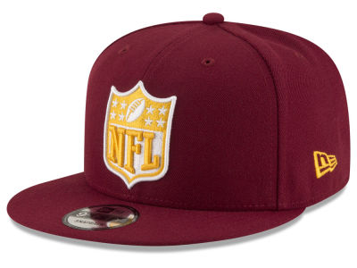 Washington Redskins NFL Team Shield 9FIFTY Snapback Cap Hats