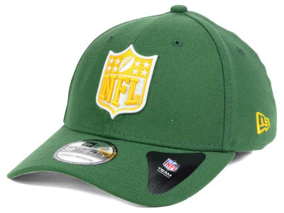 Green Bay Packers NFL Team Shield 39THIRTY Cap Hats