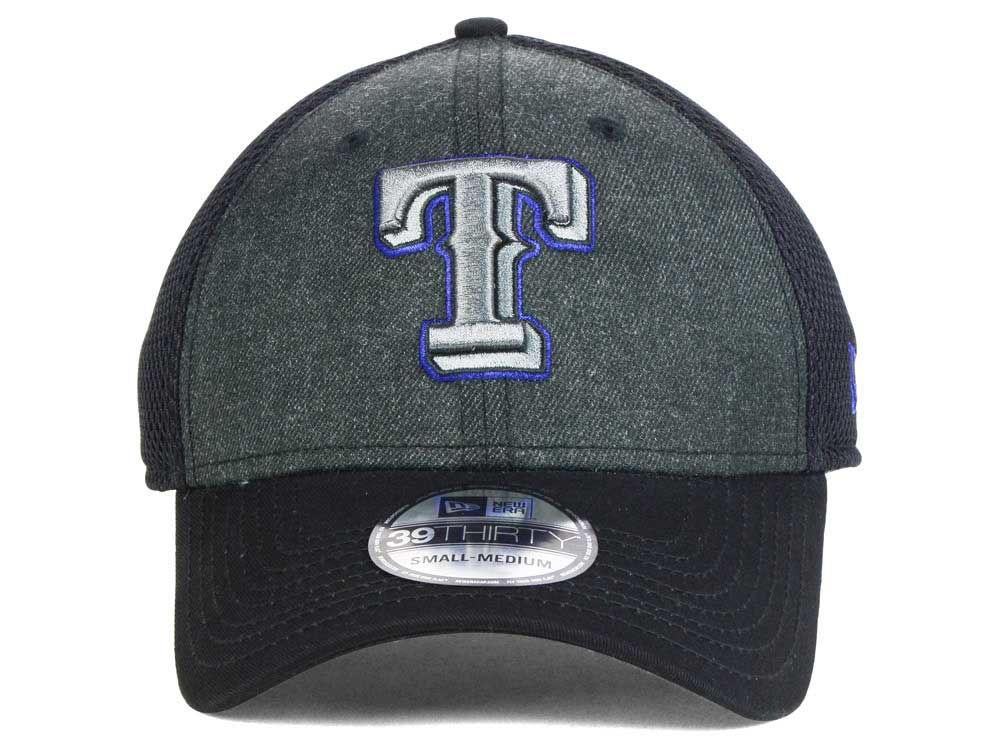 buy popular ff032 34bdc low-cost Texas Rangers MLB Heathered Neo 39THIRTY Cap
