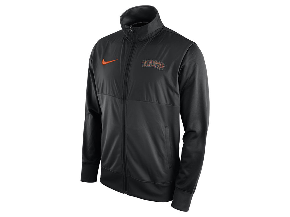 new product 190c4 94af7 free shipping San Francisco Giants Nike MLB Men s Track Jacket 1.7