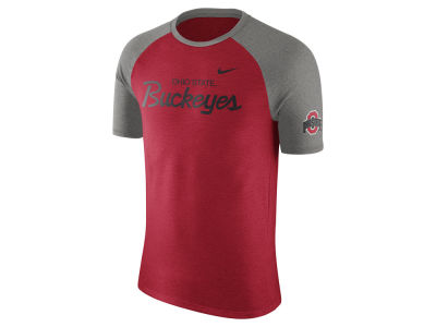 Nike NCAA Men's Script Triblend Raglan T-Shirt