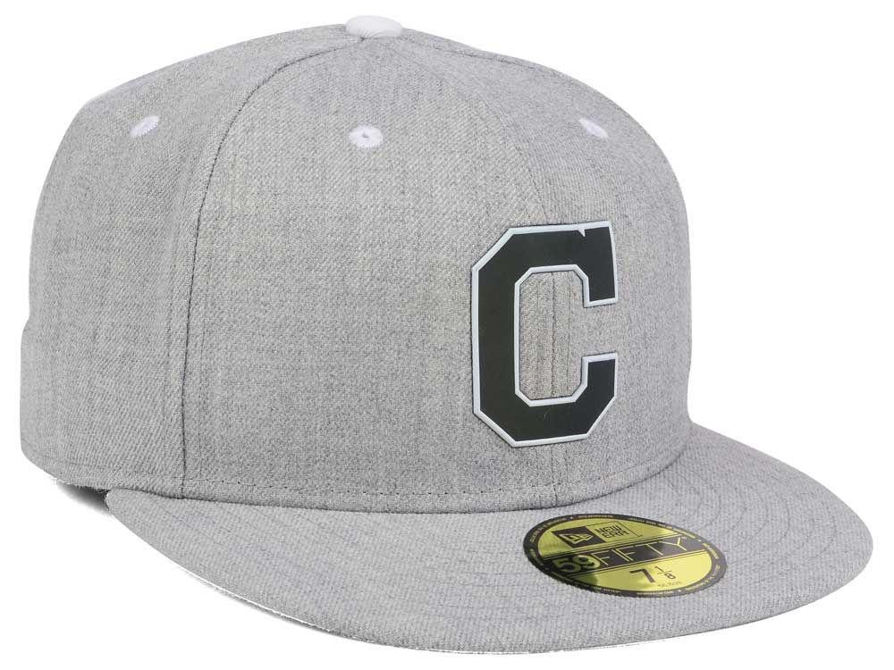 f929e301ca1 Cleveland Indians New Era MLB Dual Flect 59FIFTY Cap 70%OFF ...