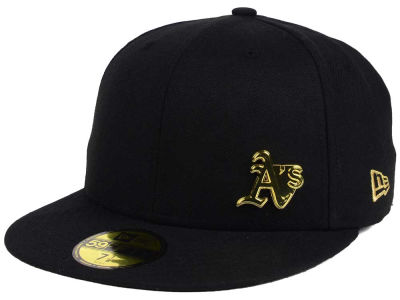 Oakland Athletics MLB Flawless OGold 59FIFTY Cap Hats