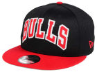Chicago Bulls New Era NBA Hardwood Classics Tackle Trilled 9FIFTY Snapback Cap Adjustable Hats