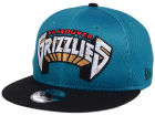 Vancouver Grizzlies New Era NBA Hardwood Classics Tackle Trilled 9FIFTY Snapback Cap Adjustable Hats