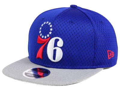Philadelphia 76ers NBA HWC Heather Mesh Hook 9FIFTY Cap Hats