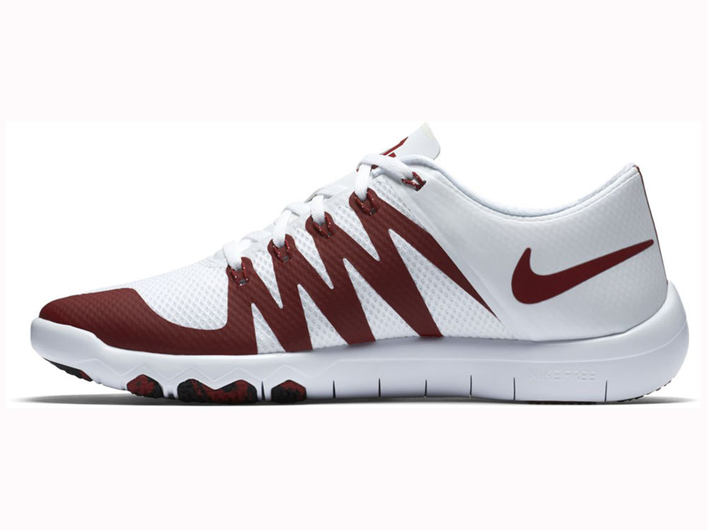 4a7153d863cc ... Oklahoma Sooners Nike NCAA Mens Free Trainer 5.0 V6 AMP Running Shoes  on sale ...