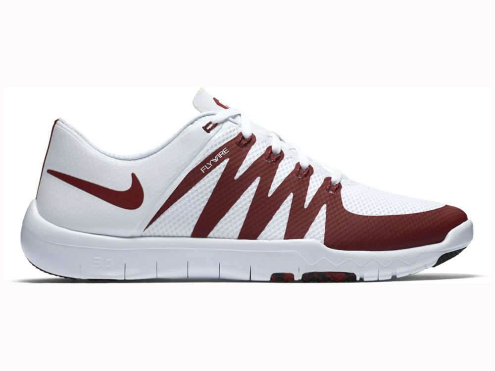 b78f724bde0e ... Oklahoma Sooners Nike NCAA Mens Free Trainer 5.0 V6 AMP Running Shoes  on sale ...