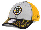 Boston Bruins New Era NHL Heathered Neo Cap Stretch Fitted Hats
