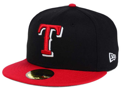 Texas Rangers MLB Rivalry 59FIFTY Cap Hats