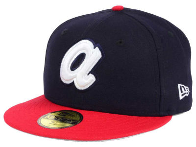 Atlanta Braves MLB Twist Up 59FIFTY Cap Hats