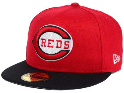 Cincinnati Reds MLB Twist Up 59FIFTY Cap Hats