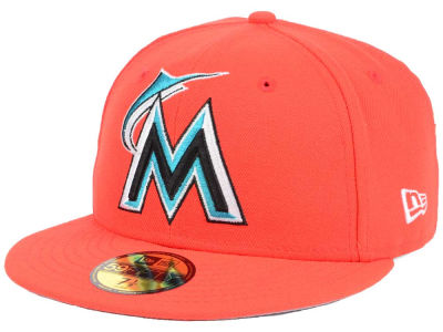 Miami Marlins MLB Twist Up 59FIFTY Cap Hats
