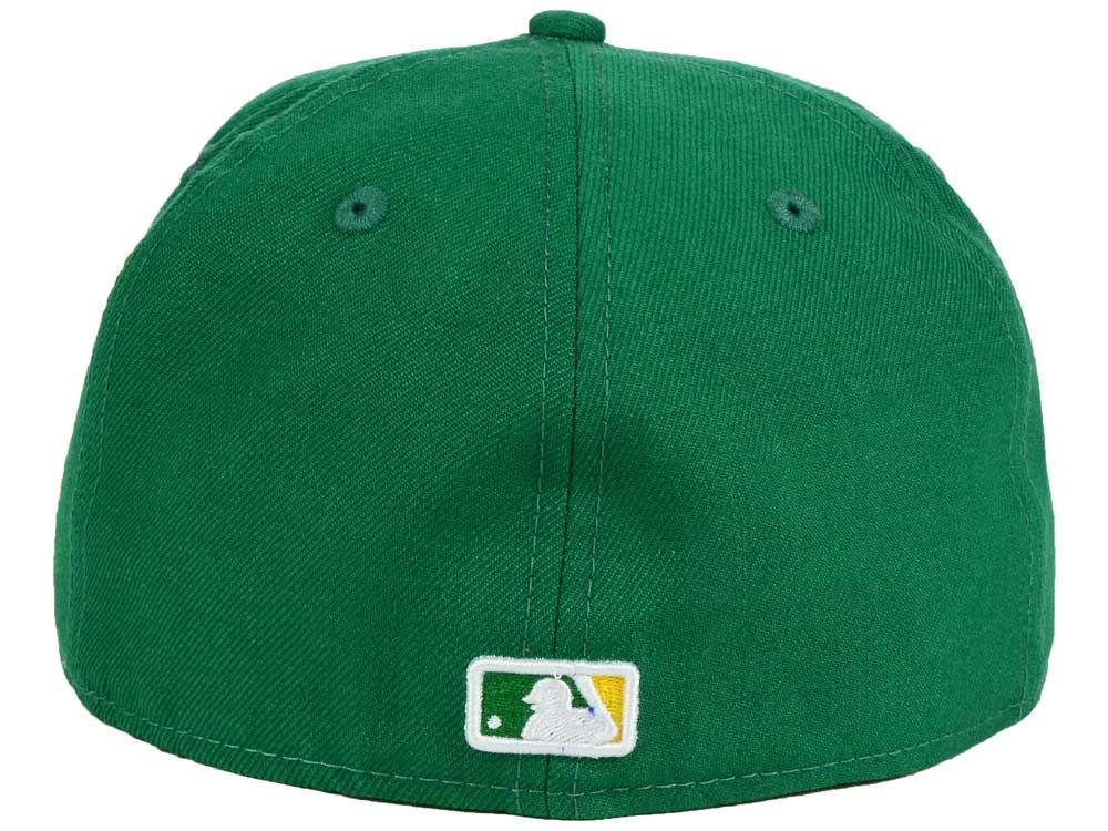 info for 40d98 b84a8 Oakland Athletics New Era MLB Twist Up 59FIFTY Cap best