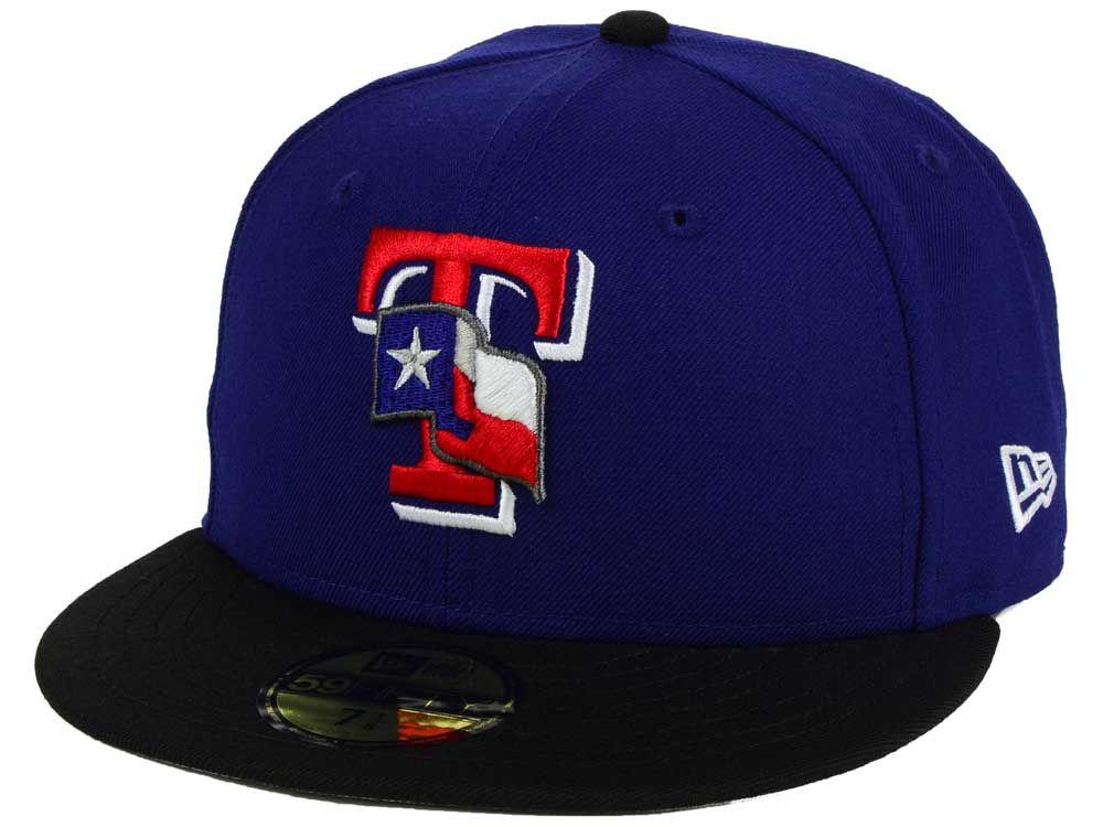 huge selection of 2a7a1 5e44f hot sale 2017 Texas Rangers New Era MLB Twist Up 59FIFTY Cap