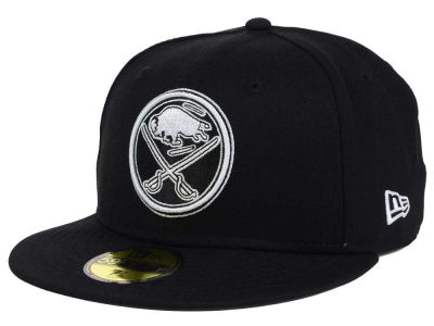 Buffalo Sabres NHL Black Dub 59FIFTY Cap Hats