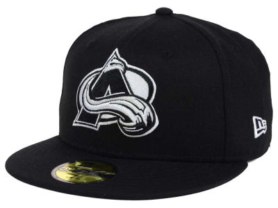 Colorado Avalanche NHL Black Dub 59FIFTY Cap Hats