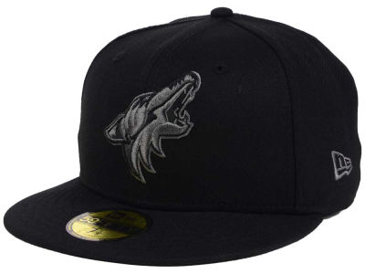 Arizona Coyotes NHL Black Graph 59FIFTY Cap Hats