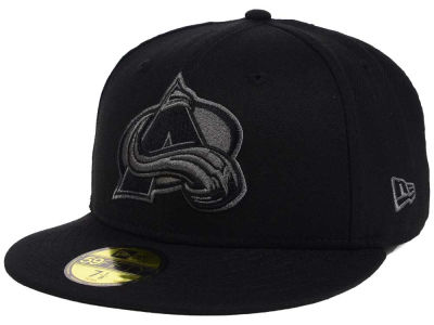 Colorado Avalanche NHL Black Graph 59FIFTY Cap Hats