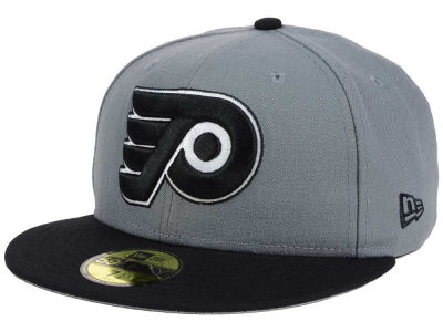 Philadelphia Flyers NHL Gray Black 59FIFTY Cap Hats
