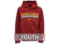Nike NCAA Youth Primary Logo Knock Out Hoodie Pullovers